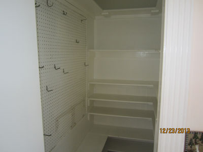 Mudroom Closet - Before Remodel