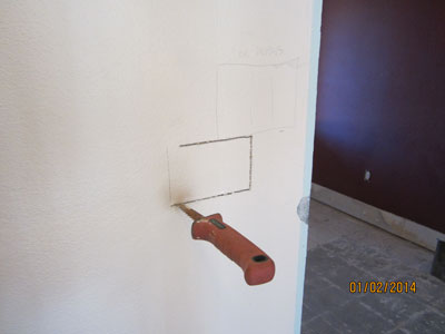 Wall Switch - During Remodel